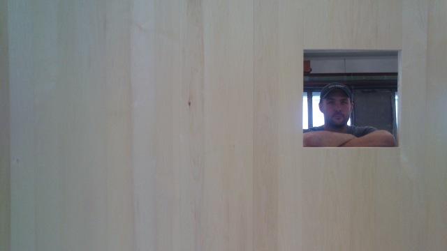 osp seksjon med vindu